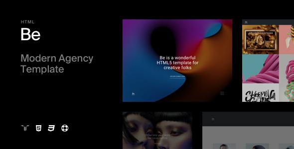 Be v1.1 — Responsive HTML5 Agency Template