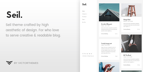 Seil v1.3 — A Responsive WordPress Blog Theme