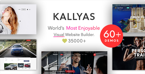 KALLYAS v4.16.4 — Responsive Multi-Purpose WordPress Theme