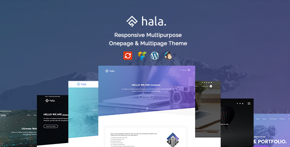 Hala v1.0.0 — Creative Multi-Purpose WordPress Theme
