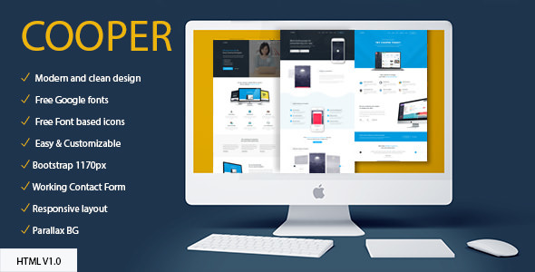 COOPER — MultiPurpose HTML Template