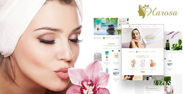Harosa — Cosmetics and Beauty Magento Theme
