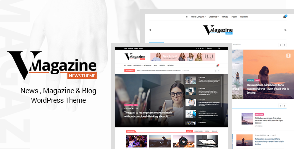 Vmagazine v1.0.6 — Blog, NewsPaper, Magazine Themes