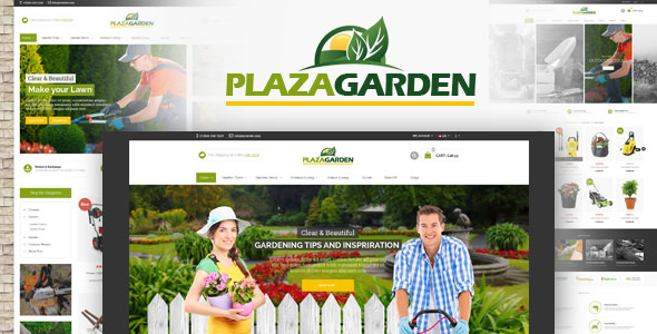 PlazaGarden — Responsive Magento Theme