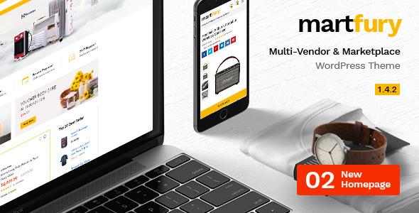 Martfury v1.4.2 — WooCommerce Marketplace Theme