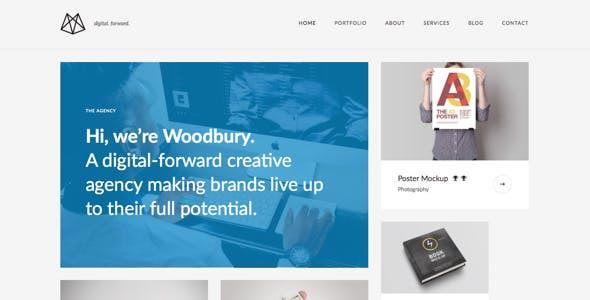 Woodbury Agency — Drupal 8.5 Portfolio Theme