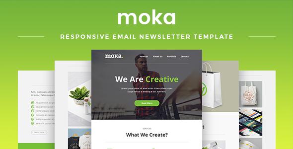 Moka v1.7 — Responsive Email Newsletter Template