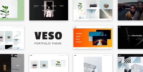 Veso v1.0.3 — Multipurpose Portfolio Theme