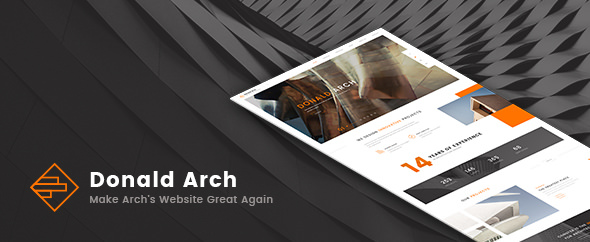 Donald Arch v1.0.5 — Creative Architecture Theme