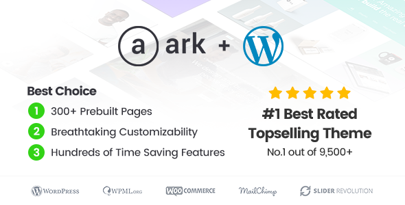 The Ark v1.39.0 — Multi-Purpose WordPress Theme