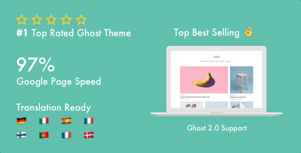 Nubia — Make Your Ghost Blog Beautiful & Make It Fast & Accessible