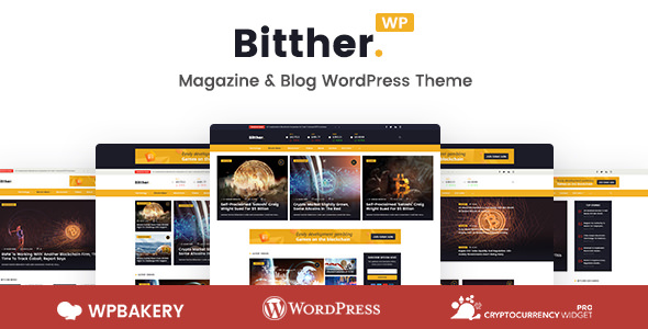 Bitther v1.0.3 — Magazine and Blog WordPress Theme