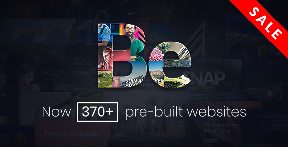 BeTheme v5.4 — HTML Responsive Multi-Purpose Template