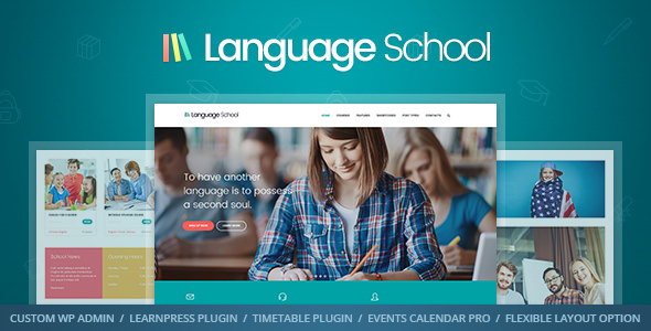 Language School v1.1.4 — Courses & LMS Theme