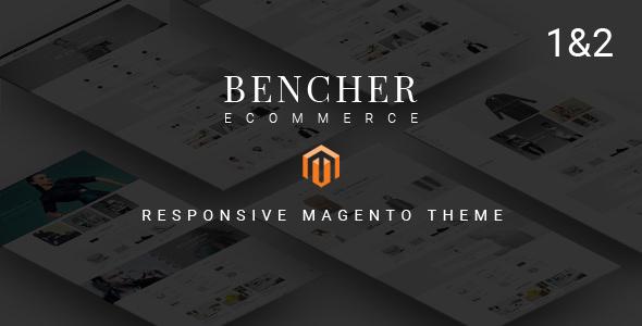 Bencher — Responsive Magento 1 & 2 Theme