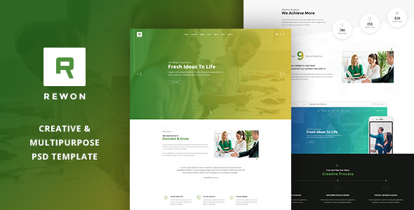 REWON — Multipurpose PSD Template