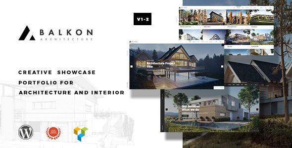 Balkon v1.1 — Creative Responsive Architecture Theme