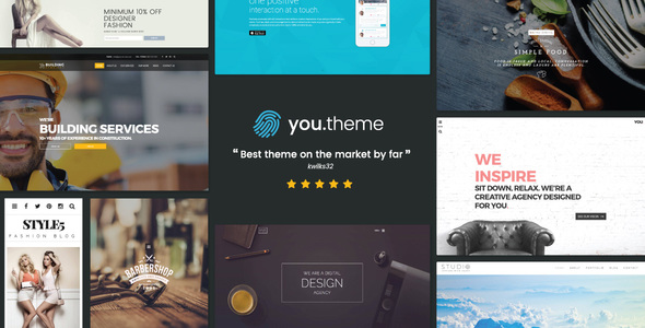 You v1.7 — Multi-Purpose Responsive WordPress Theme