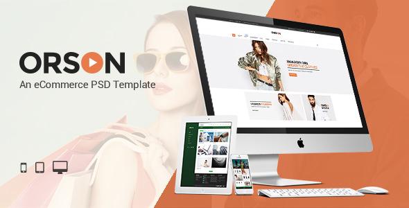 Orson — An eCommerce PSD Template