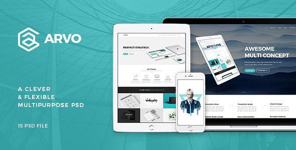 Arvo — A Clever & Flexible Multipurpose PSD