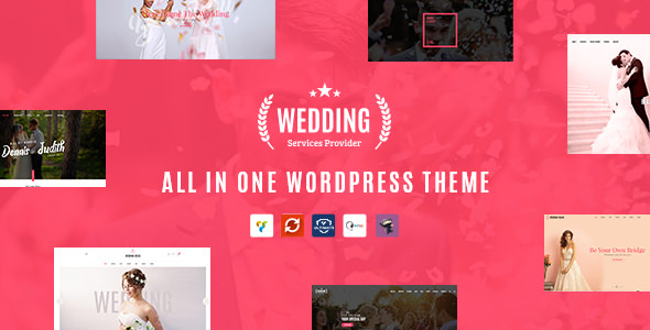 Wedding v1.4 — All in One WordPress Theme