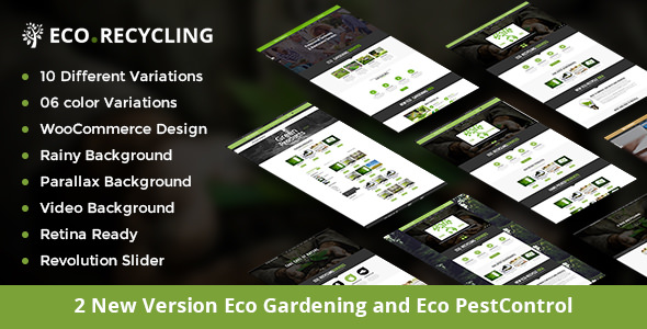 Eco Recycling — A Multipurpose HTML Template
