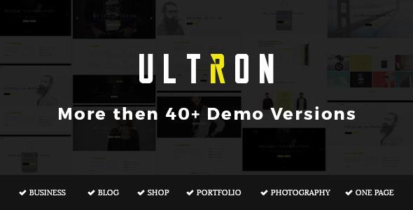 Ultron v1.2 — Responsive Multipurpose Joomla Template