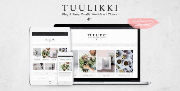 TUULIKKI v4.0.3 — Nordic Blog & Shop WordPress Theme