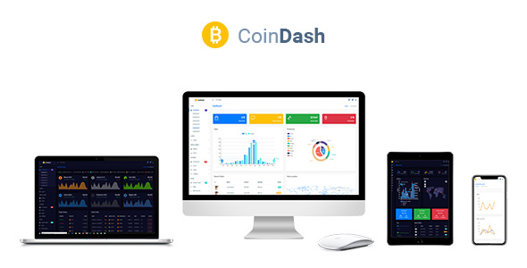 Coindash v1.1 — Cryptocurrency Dashboard Admin Template