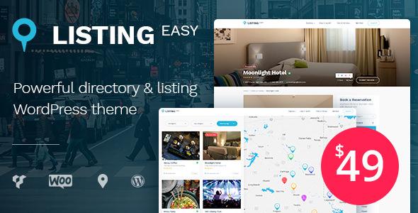ListingEasy v1.2.9 — Directory WordPress Theme