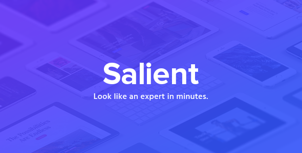 Salient v9.0.1 — Responsive Multi-Purpose Theme