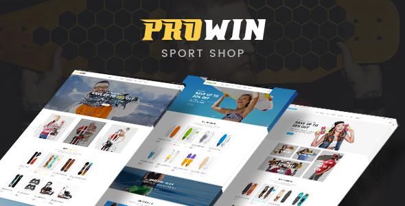 Prowin v1.0 — Sport Responsive Prestashop Theme