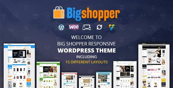 BigShopper v1.0 — Multipurpose WooCommerce Theme