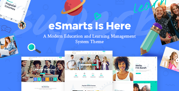 eSmarts — Theme for Education and LMS