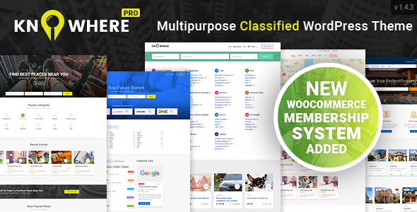 Knowhere Pro v1.4.3 — Multipurpose Directory Theme