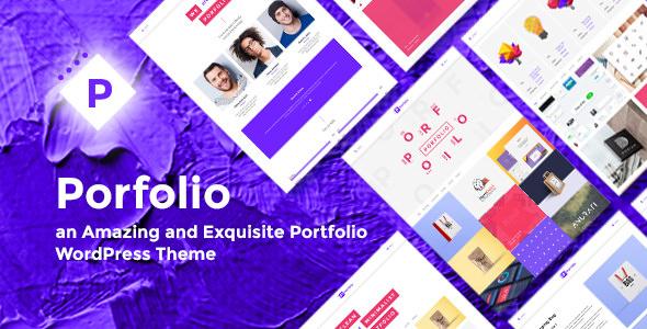 Porfolio v1.0 — Creative Agency & Personal Portfolio Theme