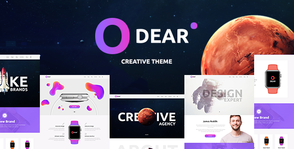 Odear v1.0 — Multi-Concept Creative WordPress Theme