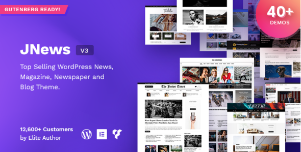 JNews v3.1.1 — Newspaper Magazine Blog AMP Theme