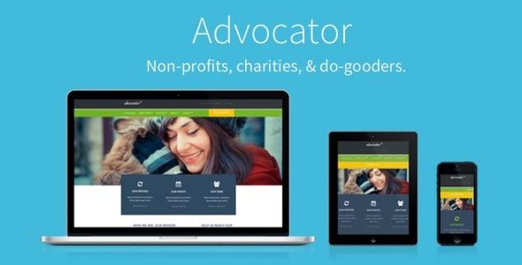 Advocator v2.5.1 — Nonprofit & Charity Responsive Theme