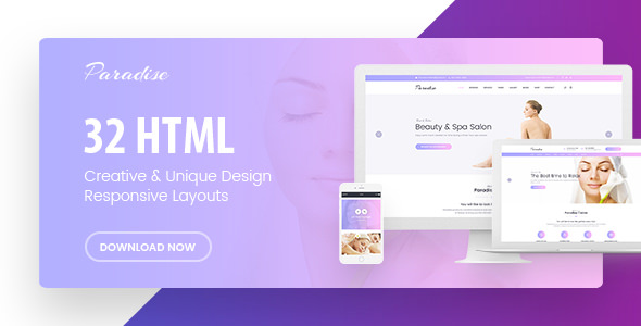 Paradise — Multipurpose HTML Template