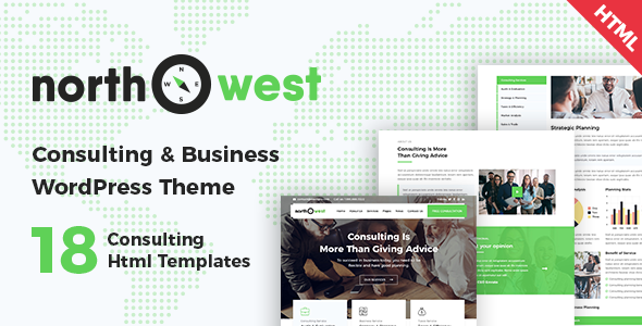 Northwest — Consulting HTML Template