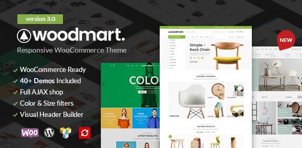 WoodMart v3.0 — Responsive WooCommerce WordPress Theme