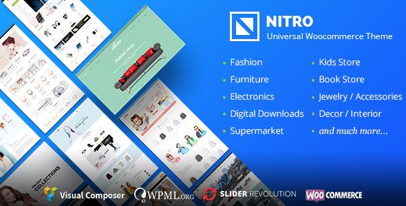Nitro v1.6.5 — Universal WooCommerce Theme