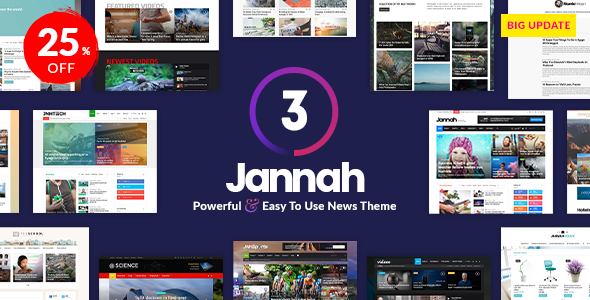 Jannah News v3.0.1 — Newspaper Magazine News AMP BuddyPress