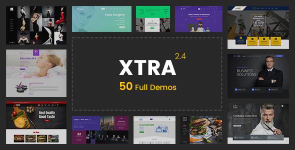 XTRA v2.4 — Multipurpose WordPress Theme + RTL
