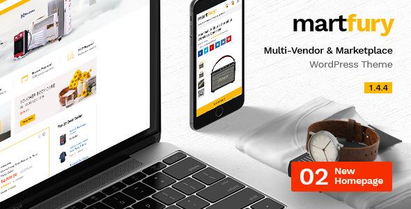 Martfury v1.4.4 — WooCommerce Marketplace Theme
