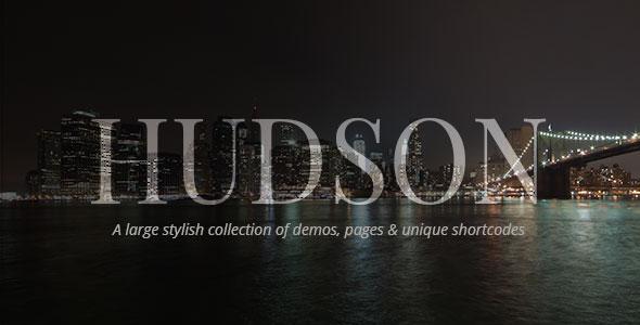 Hudson v2.0 — Personal, Professional, Advanced Theme