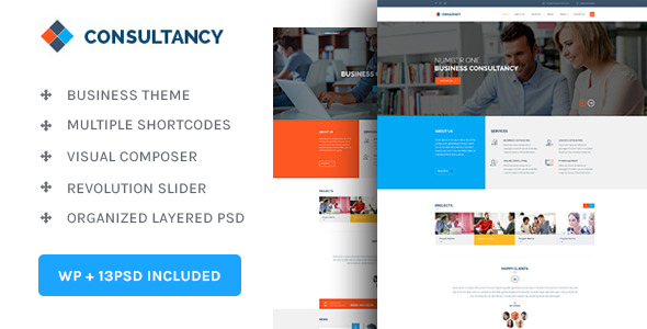 Consultancy v1.3.7 — WP Consultancy & Business Theme