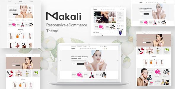 Makali v1.0.3 — Cosmetics & Beauty Theme