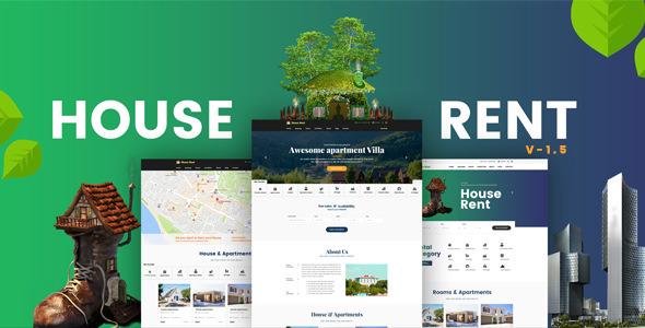 HouseRent v1.6 — Multi Concept Rental WordPress Theme